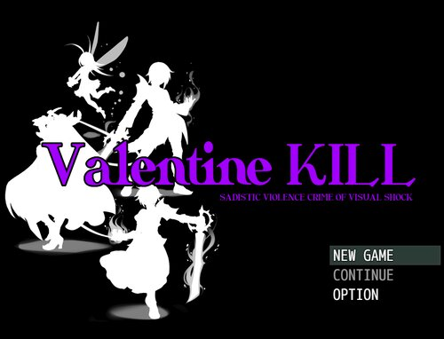Valentine KILL Game Screen Shots