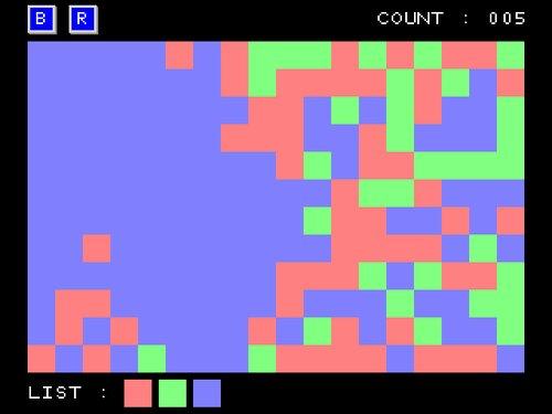 Color Panel Flood Game Screen Shot1