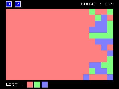 Color Panel Flood Game Screen Shot3