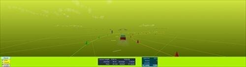 格闘!?カーレース Game Screen Shot3