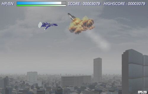 Blue Bird in the Sky Game Screen Shot4