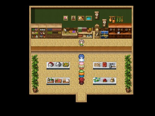 かたことゆーしゃ Game Screen Shot3