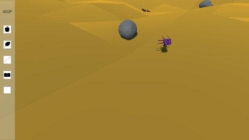 一生懸命に生きる虫を助けたり助けなかったりするゲーム Game Screen Shot4