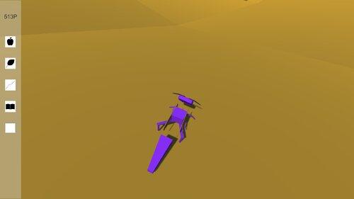 一生懸命に生きる虫を助けたり助けなかったりするゲーム Game Screen Shots