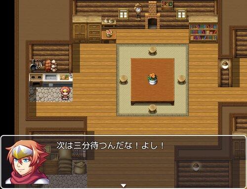 カップの△の部分付近の容器を両手でしっかり持ち Game Screen Shot2