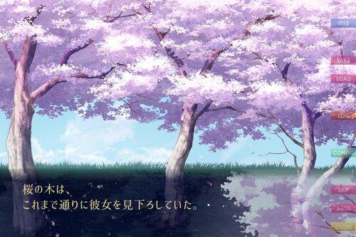 よざくら奇譚 Game Screen Shot3