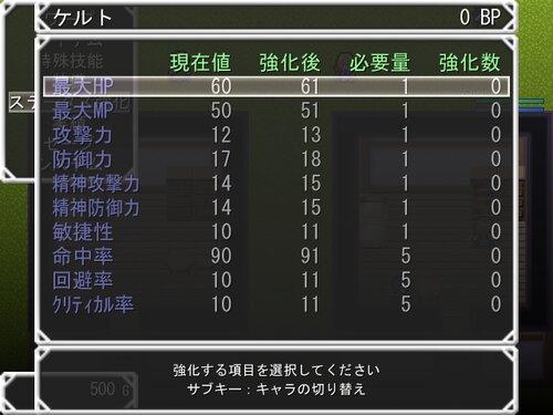 ケルトの冒険~ぶらり賞金稼ぎの旅~ Game Screen Shot3