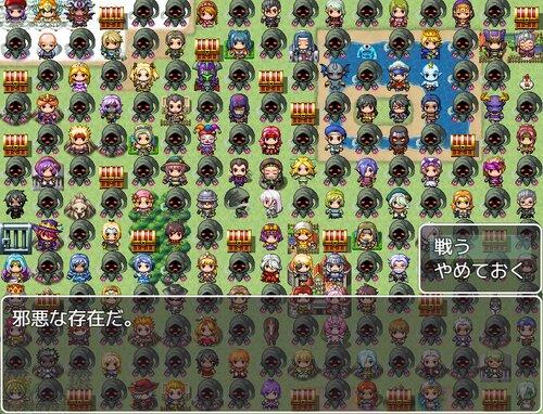 一画面勇者【ダウンロード版】 Game Screen Shot2