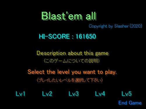 Blast'em all (Ver102) Game Screen Shot3
