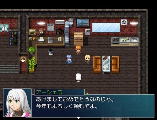 オショウガツ・バトル Game Screen Shot2