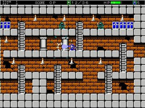 Monster Dungeon Game Screen Shot4