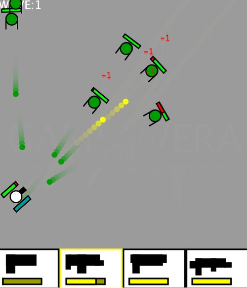 ZONBI_STG Game Screen Shots