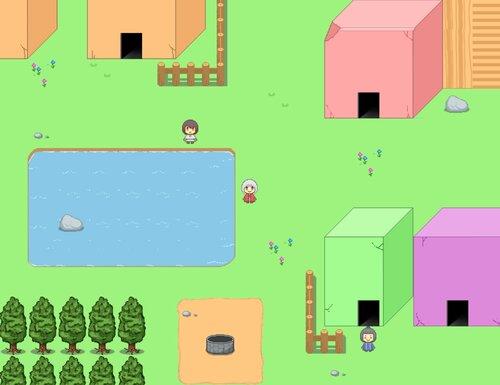 サンタ・ピエラの平和な世界 Game Screen Shot2