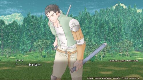 ケンヲヌケ Game Screen Shot1