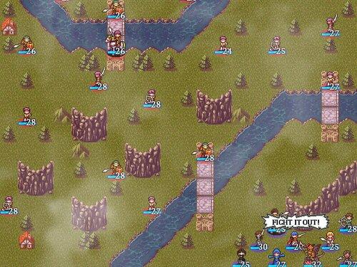 Artifact Of War -火風の双騎- Game Screen Shot5
