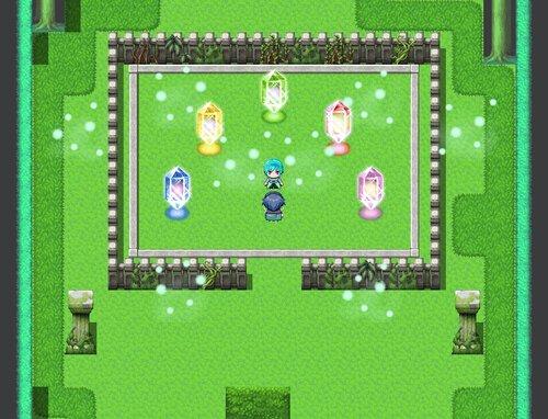 侵攻のイリュージヤ Game Screen Shot1