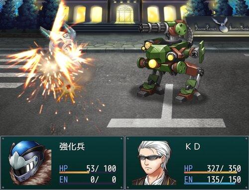 武装脚機ヴァンレッグ Game Screen Shot2