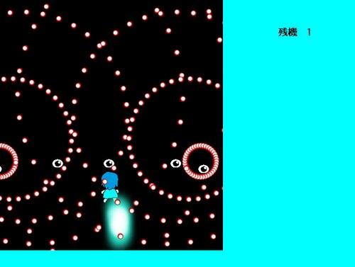 シューティングゲーム(仮) Game Screen Shot2