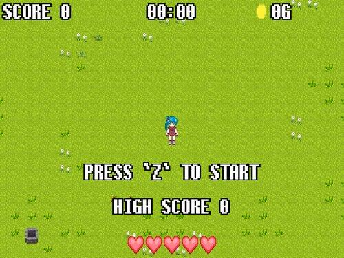 村の魔法少女 Game Screen Shot1