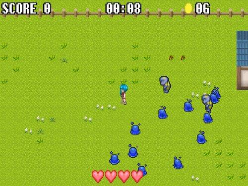 村の魔法少女 Game Screen Shot2