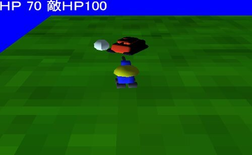 3D アクションゲーム Game Screen Shot1
