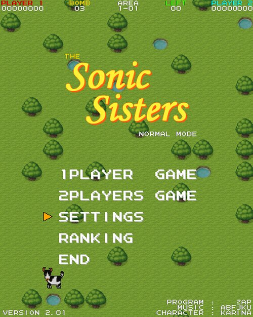 Sonic Sisters New Version Game Screen Shots