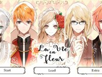 La Vie en Fleurのゲーム画面