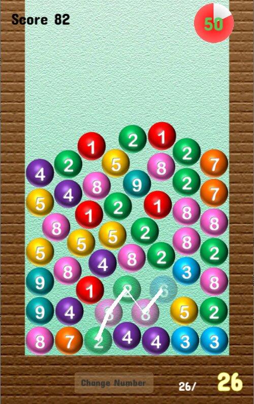 Sum Ball Game Screen Shot