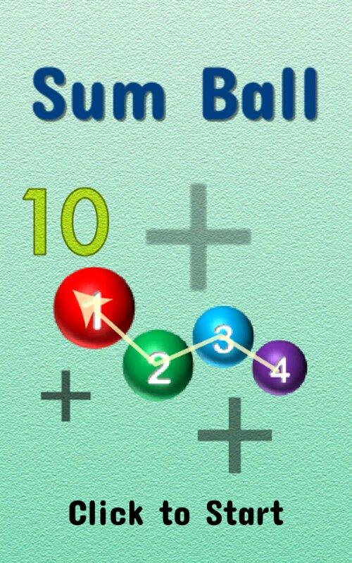 Sum Ball Game Screen Shots