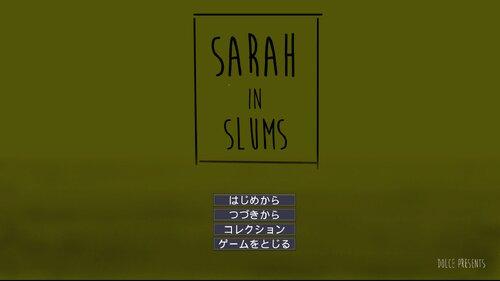 Sarah in Slums Game Screen Shots