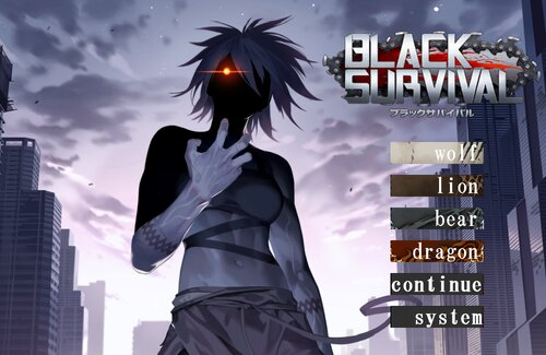 Black Survival Simulation Game Game Screen Shots