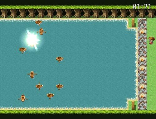 山賊を打ちのめせ! Game Screen Shot2