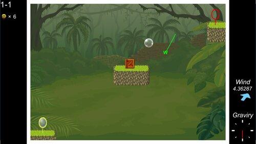 シャボン玉の旅 Game Screen Shot1
