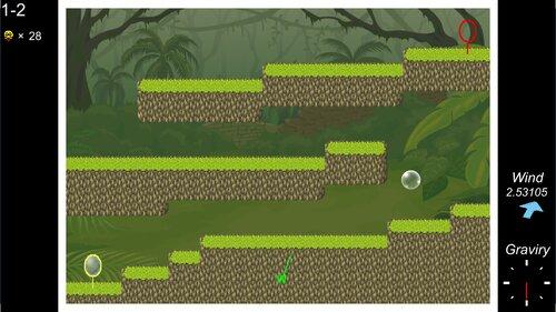 シャボン玉の旅 Game Screen Shot2