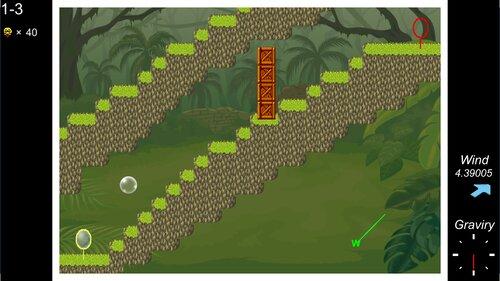 シャボン玉の旅 Game Screen Shots