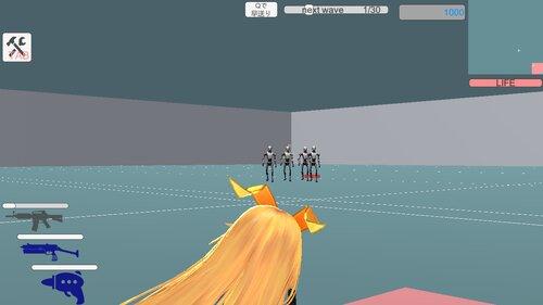 unityちゃんタワーディフェンス Game Screen Shot
