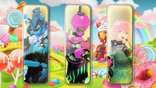 キャンディー Game Screen Shot1