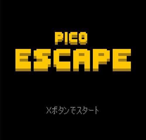 PICO ESCAPE Game Screen Shot