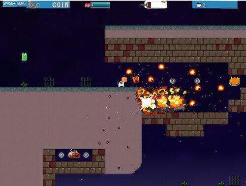 ゆきにゃんライジング Game Screen Shot