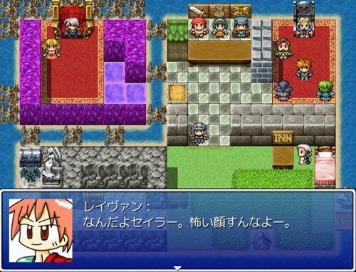 ゆうしゃレイヴァンのだいぼうけん++ Game Screen Shot1