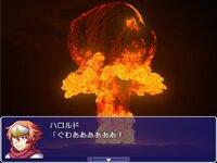 6人の村人に話し掛けると爆死するRPGのゲーム画面