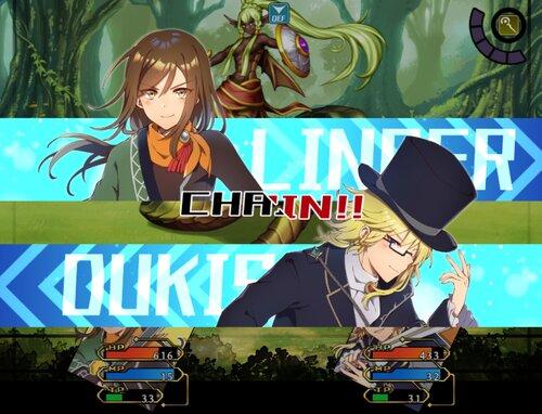 クロスセイバー Game Screen Shot1