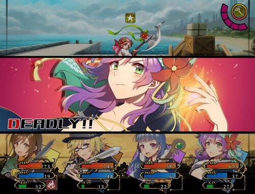 クロスセイバー Game Screen Shot3