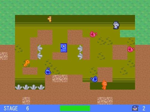 ラクガキが跳ねた Game Screen Shot1