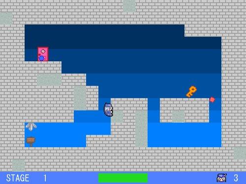 ラクガキが跳ねた Game Screen Shot2