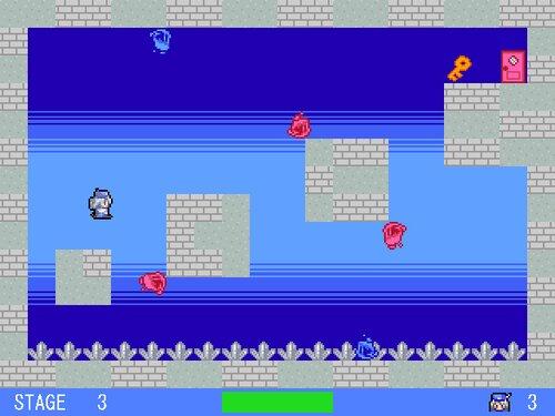 ラクガキが跳ねた Game Screen Shot4