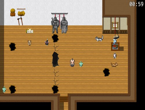 CATCH THE CATS ~猫ちゃんを捕まえて~ Game Screen Shot1