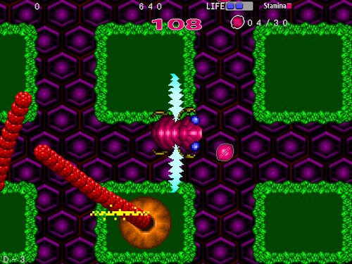 インセクトセイバー Game Screen Shot1
