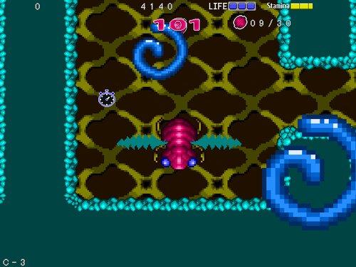 インセクトセイバー Game Screen Shot2