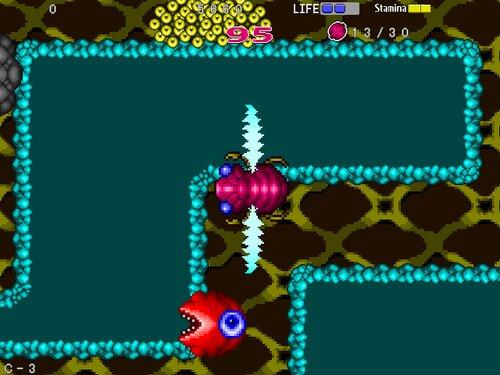 インセクトセイバー Game Screen Shot5